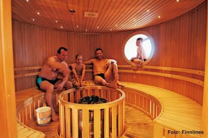 Finnlines-Sauna