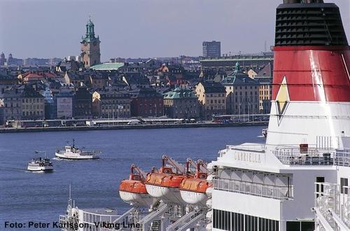 Finnland Fähren von Stockholm