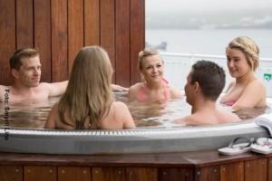 Island Fähre Hot Tubs